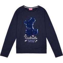 Bluzki dziewczęce bawełniane: Koszulka dwustronna z cekinami 5/10 lat