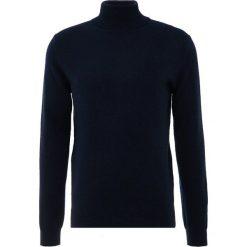 Pure cashmere Sweter dark navy. Niebieskie swetry klasyczne męskie pure cashmere, m, z kaszmiru. Za 969,00 zł.