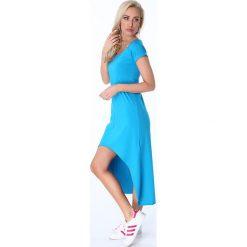 Sukienki: Sukienka Morski Błękit 9865