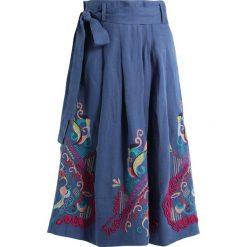 Spódniczki: Ivko SKIRT WITH EMBROIDERY Spódnica trapezowa stoneblue