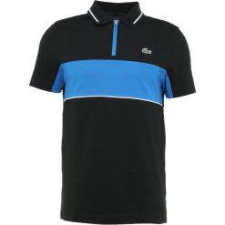 Lacoste Sport Koszulka polo black/royal blue/white. Czarne koszulki polo Lacoste Sport, m, z bawełny. Za 459,00 zł.