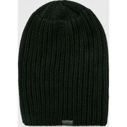 G-Star Raw - Czapka Venetio. Czarne czapki zimowe damskie G-Star RAW, na zimę, z bawełny. W wyprzedaży za 159,90 zł.