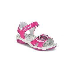 Sandały Dziecko  Primigi  BREEZE. Różowe sandały dziewczęce marki New Balance, na lato, z materiału. Za 153,30 zł.