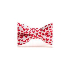 Mucha GOTOWA IN LOVE. Różowe muchy męskie HisOutfit, z materiału, wizytowe. Za 89,00 zł.