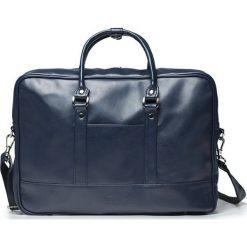 Torba Solier Granatowa elegancka torba na laptopa Solier NORMAN. Szare torby na laptopa marki Solier. Za 135,43 zł.