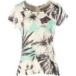 T-shirty damskie: T-shirt z krótkim rękawem i koronką z tyłu