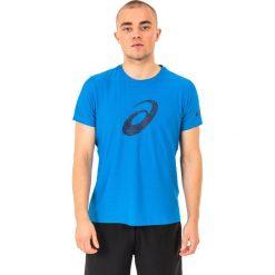 Asics Koszulka męska Graphic SS Top Directoire Blue r. S. Niebieskie koszulki sportowe męskie Asics, m. Za 75,00 zł.