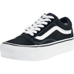 Vans Old Skool Platform Buty sportowe czarny/biały. Białe buty sportowe damskie Vans, z gumy, vans old skool. Za 346,90 zł.