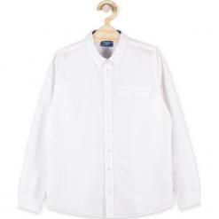 Koszula. Białe koszule chłopięce z długim rękawem marki ELEGANT JUNIOR BOY, z bawełny. Za 54,90 zł.