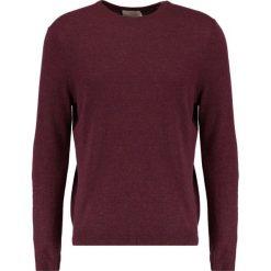 Swetry klasyczne męskie: Topman CREW   Sweter burgundy