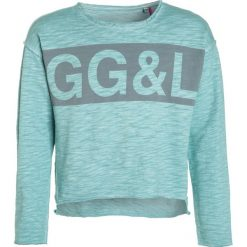 GEORGE GINA & LUCY girls KOPENHAGEN Bluza mint. Niebieskie bluzy dziewczęce marki Retour Jeans, z bawełny. W wyprzedaży za 126,75 zł.