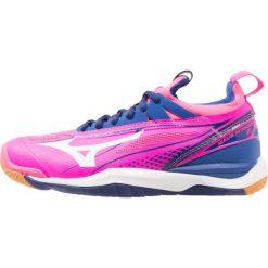 Buty sportowe damskie: Mizuno WAVE MIRAGE  Obuwie do piłki ręcznej pink glo/white/true blue