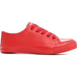 Buty dziecięce: Czerwone Trampki Sliding