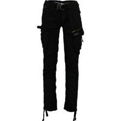 """Spodnie męskie: Bojówki """"Palium"""" w kolorze czarnym"""