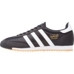 Adidas Originals DRAGON  Tenisówki i Trampki core black/white. Czarne tenisówki damskie adidas Originals, z materiału. Za 379,00 zł.