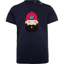 T-shirty chłopięce z nadrukiem: Fred's World by GREEN COTTON FIRETRUCK Tshirt z nadrukiem navy