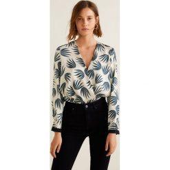 Mango - Bluzka Smithes. Czarne bluzki wizytowe marki bonprix, eleganckie. Za 199,90 zł.