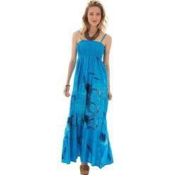 Sukienki: Sukienka w kolorze turkusowym