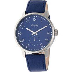 """Zegarki męskie: Zegarek kwarcowy """"the 3400"""" w kolorze niebiesko-srebrno-białym"""