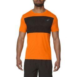 Asics Koszulka męska Poly Mesh Top pomarańczowa r. S (141622 0524). Brązowe t-shirty męskie Asics, m, z meshu. Za 128,33 zł.
