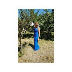 SUKIENKA ELENA | LETNIA MAXI KOBALTOWA. Czerwone długie sukienki marki Meleksima, l, z materiału, oversize. Za 67,60 zł.