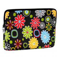 "Torby na laptopa: Baga 13″ – 13.3"" kwiatki kolorowe"