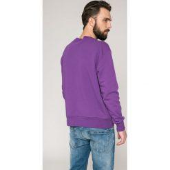 Diesel - Bluza. Różowe bluzy męskie rozpinane Diesel, l, z nadrukiem, z bawełny, bez kaptura. W wyprzedaży za 269,90 zł.
