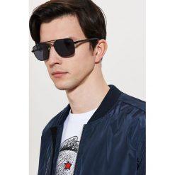 Okulary przeciwsłoneczne - Czarny. Szare okulary przeciwsłoneczne damskie lenonki marki ORAO. W wyprzedaży za 9,99 zł.