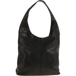 """Skórzana torebka """"Vercelli"""" w kolorze czarnym - 30 x 40 x 14 cm. Czarne torebki klasyczne damskie ORE10, ze skóry. W wyprzedaży za 304,95 zł."""