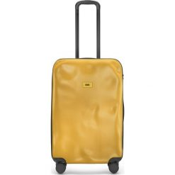 Walizka Icon średnia matowa żółta. Żółte walizki marki Crazy sales, z materiału. Za 1040,00 zł.