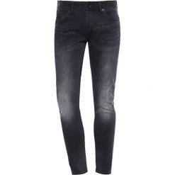 Jeansy męskie: Superdry Jeans Skinny Fit dusted black blue