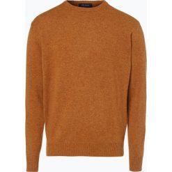 Mc Earl - Sweter męski, złoty. Żółte swetry klasyczne męskie Mc Earl, l, z wełny. Za 129,95 zł.