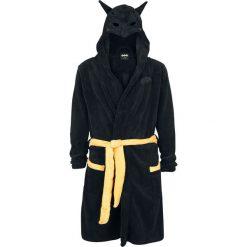 Batman Batman Szlafrok czarny/żółty. Czarne szlafroki męskie marki Batman, l, z aplikacjami. Za 199,90 zł.
