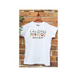T-shirt Szefowa Ogrodu L. Białe t-shirty damskie Funfara, l, z bawełny. Za 89,00 zł.