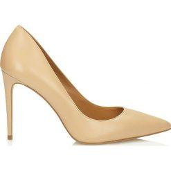 Buty ślubne damskie: Kremowe czółenka damskie