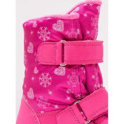 Superfit FLAVIA Śniegowce pink. Czerwone buty zimowe damskie marki Superfit, z materiału. W wyprzedaży za 191,40 zł.