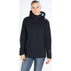 CMP WOMAN JACKET ZIP HOOD Kurtka Softshell blue/anice. Czerwone kurtki sportowe damskie marki CMP, z materiału. W wyprzedaży za 341,10 zł.