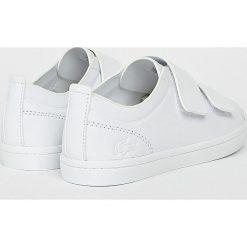 Lacoste - Buty. Szare buty sportowe damskie Lacoste, z materiału. W wyprzedaży za 399,90 zł.