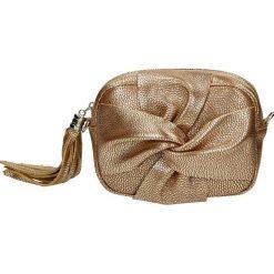 Torebka - 100-39A-M ORS. Szare torebki klasyczne damskie Venezia, ze skóry. Za 149,00 zł.