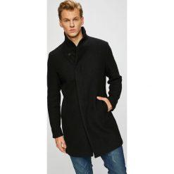 Premium by Jack&Jones - Płaszcz. Czarne płaszcze na zamek męskie Premium by Jack&Jones, m, z materiału. W wyprzedaży za 579,90 zł.