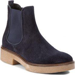 Sztyblety GINO ROSSI - Utako DSH507-Y38-0155-5757-0 59/59. Niebieskie buty zimowe damskie marki Gino Rossi, ze skóry, na obcasie. W wyprzedaży za 269,00 zł.