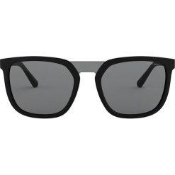 Emporio Armani - Okulary 0EA4123. Brązowe okulary przeciwsłoneczne męskie Emporio Armani, z materiału. Za 549,90 zł.