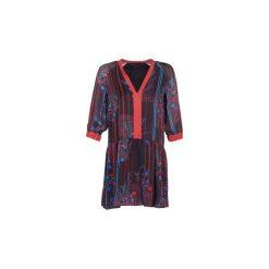 Sukienki krótkie Sisley  CEPAME. Sukienki małe czarne Sisley, z krótkim rękawem. Za 487,20 zł.