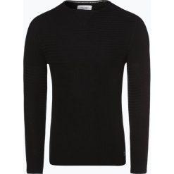 Marc O'Polo Denim - Sweter męski, czarny. Czarne swetry klasyczne męskie Marc O'Polo DENIM, m, z denimu, polo. Za 349,95 zł.