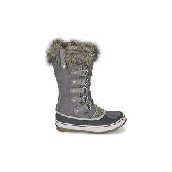 Śniegowce Sorel  JOAN OF ARCTIC. Szare buty zimowe damskie Sorel. Za 799,99 zł.