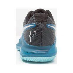 Buty do tenisa męskie: Nike Performance AIR ZOOM VAPOR X HC Obuwie multicourt green abyss/multicolor/bleach