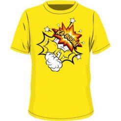 T-shirty chłopięce: BEJO Koszulka dziecięca   BOOM KIDSB Blazing Yellow r. 122