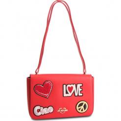 Torebka LOVE MOSCHINO - JC4083PP17LJ0500 Rosso. Czerwone torebki klasyczne damskie Love Moschino, ze skóry ekologicznej. Za 909,00 zł.