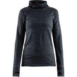 Craft Bluza Damska Core 2.0 Hood Ciemnoszara L. Czarne bluzy sportowe damskie marki Craft, l. W wyprzedaży za 166,00 zł.