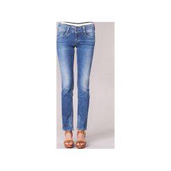 Jeansy straight leg Pepe jeans  GEN. Niebieskie jeansy damskie Pepe Jeans. Za 327,20 zł.